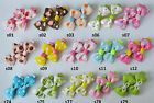 99p for 2 clips SALE baby/girls hair slides ,UK stock, alligator clips,bows