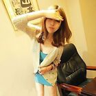 New Korean Fashion Style Summer Essential Solid Colors Lady Basic Sun-Top Vest