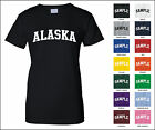 State of Alaska College Letter Woman's T-shirt