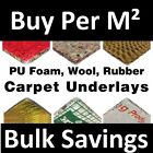 Carpet Underlay - Cloud 9, Tredaire 8mm 10mm or 12mm Thick, Foam Rubber - Cheap
