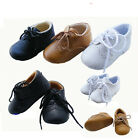Baby Boy Formal Shoes, Crib for Wedding, Christening Baptism Faux Leather 0-12M