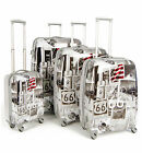 Lightweight Hard shell Travel Luggage Suitcase Bag- 4 Wheel Spinner Trolley Bag