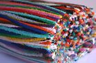 25 Cotton Pipe Cleaner / Craft Stems (15cm length ) - Choose from 15 colours