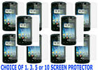 1, 3, 5 OR 10 Clear Screen Protector For LG Optimus Zip Slider L75 Prepaid Phone