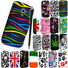 FOR SAMSUNG GALAXY ACE II 2 i8160 NEW PRINTED HARD SHELL CASE COVER+FREE STYLUS