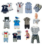 Baby Toddlers Sailor Outfit (Boy Girl Dressy Carnival Everyday Dress Swimming)
