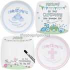 PERSONALISED Christening PLATE Gifts For Boys Girls Baby Girl Boy Gift Presents