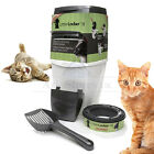 Litter Locker Cat Kitten Soiled Litter Clean Waste Disposal Unit & Refill Refils