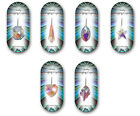 SPARKLY HANGING CRYSTAL SUN CATCHER / RAINBOW MAKER - 2nd or more free postage