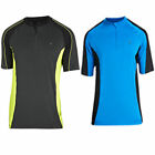 Mens Short Sleeve Cycling Shirt Bike Top Cycle Jersey T-Shirt Wicking Fabric