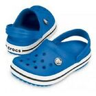 Crocs Crocband For Kids In  Sea Blue, Red & Navy from Toddler 4/5 -Youth 3