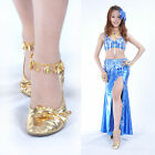 Brand New Anklets One pair Belly Dance Accessories Costumes Gold/Silver