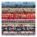 100% COTTON PRINT PATCHWORK FABRIC*16 DESIGNS*CRAFT QUILT HOME DECOR DRESSMAKING