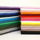 Samples Swatches 100% Knitted Jersey Cotton Interlock Fabric Material