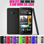 S LINE WAVE SOFT GEL SKIN CASE FOR HTC ONE MINI M4