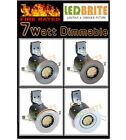 FIRE RATED 3W to 7W DIMMABLE LED DOWNLIGHT 240V  FIXED