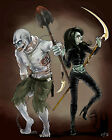 Scary Couple - CANVAS OR PRINT WALL ART