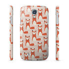 Cute Foxes Foxy Retro - Hard Cover Case for iPhone, Android, 65+ other phones