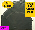 GREY MAILING BAGS Strong Small Large Mail Sacks Plastic Postal    1st CLASS POST