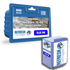 PITNEY BOWES BLUE COMPATIBLE FRANKING MACHINE INK CARTRIDGE 765-9RN