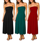 A-line Chic strapless Jersey Cocktail Party Dress Convertible Skirt co4241