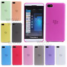 1 Pcs Ultra-thin 0.5mm Transparent Matte Cover Case For Blackberry Z10 11 Color