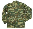 GREECE GREEK ARMY COMBAT RIPSTOP SHIRT JACKET in LIZARD PATTERN CAMO