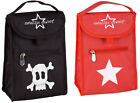 Metallic Cowboy Baby Bottle Lunch Bag Black Skull Red Star Choose Your Design