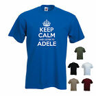 'Keep Calm and Listen to Adele' Music T-shirt Tee