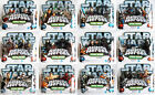 STAR WARS GALACTIC HEROES -  Choice of 12 of different twin figure blister packs