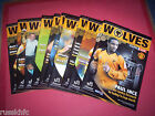 2005/06 WOLVES HOME PROGRAMMES CHOOSE FROM