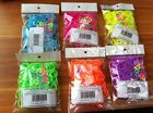 Rainbow Loom Silicon Rubber Bands Refill with Colored Q-clips