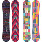 Burton Feather Flat Rocker Damen Snowboards ICS Channel  2014-2016