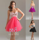 Short/Mini Beaded Cocktail Dresses Party Homecoming Formal Bridesmaid Prom Dress