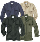 TACTICAL MILITARY SURPLUS ARMY BDU COMBAT LONG SLEEVED SECURITY SHIRT JACKET