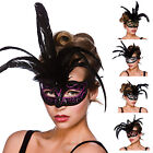 Adults Milano Eyemask Fancy Dress Halloween Accessory Festival One Size New