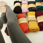 Candy Color Sexy Womens Soft Warm Winter Pants Stretch Tights Stirrup Leggings