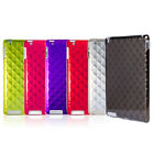 TABi Thin Diamond Protective Rigid Plastic Shell/Skin Cover Case for iPad 2/3/4
