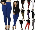 Winter ONE SIZE HIGH WAISTED Skinny Fur Fleece Lined Warm Leggings Stretch Pant