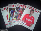 2013/14 CRAWLEY HOME PROGRAMMES CHOOSE FROM