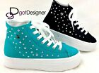 Womens Fashion Shoes Platform Sneakers Atheletic Sporty High Top Lace Up Casual