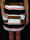 LADIES CASUAL PIPER POCKET SKIRT Sz 8 - 14