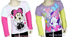 MINNIE MOUSE 2T 3T 4T Girls SHIRT TEE TOP Long Sleeve Toddler DISNEY