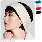 Vermont Headwarmer Knit Head Band Warmer Skiing Warm Ear Muff Band Ladies Fleece