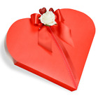 HEART FAVOUR BOXES - CLUB GREEN 10 PER PACK FREE POSTAGE
