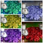 400 Acrylic MINI Ice Crystal Like Pieces Dazzled Wedding Centerpieces Supply