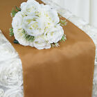 "20 pcs 12x108"" Polyester Table Top Runners for Weddings Catering Party Wholesale"