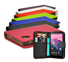7 Colour New Pu Leather Wallet Book Flip Phone Case Cover For LG Google Nexus 5