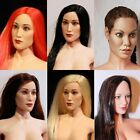 Flirty Girl (VARIOUS) HEAD SCULPT Headsets 1/6 Scale FIGURE Female Base Body NEW