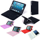 PU Leather Case Tablet Stand With Bluetooth Wireless Keyboard Apple iPad Mini UK